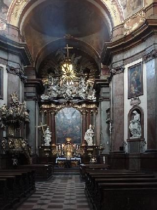 Czech Republic Prague St. Francis Of Assissi Church St. Francis Of Assissi Church Prague - Prague - Czech Republic