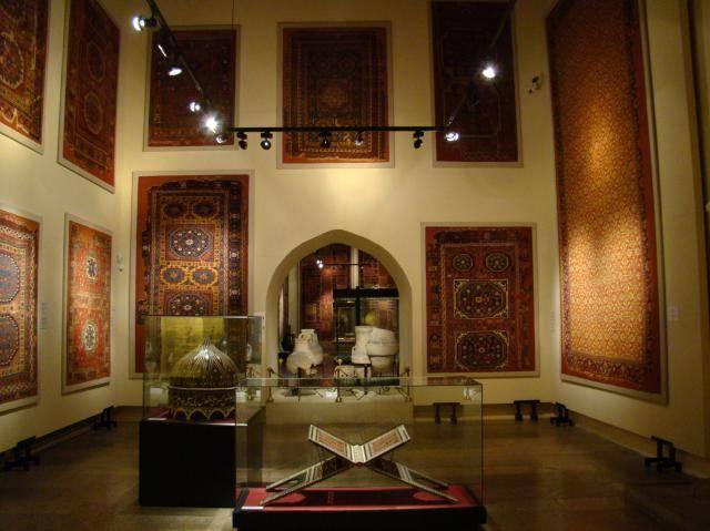 نتيجة بحث الصور عن متحف الفنون التركية والإسلامية
