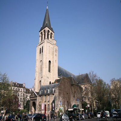 Visit Sant Germain-des-Pres Church