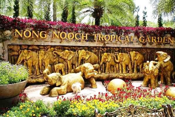 Nong Nooch Tropical Garden nong nooch tropical gardennognush