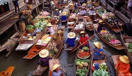 Visitar Floating Market