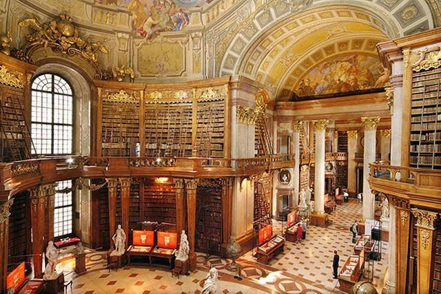 نتيجة بحث الصور عن المكتبة الوطنية النمساوية