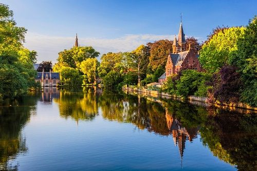 Minnewaterpark  Minnewaterpark The World - Bruges - Belgium