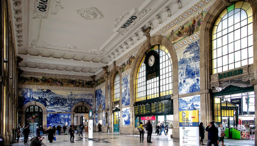 Sao Bento Station  Sao Bento Station The World - Porto - Portugal